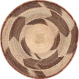 African Basket - Tonga - Zimbabwe Binga Basket - 25 Inches Across - #66912