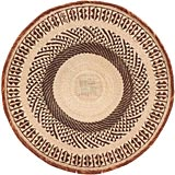 African Basket - Tonga - Zimbabwe Binga Basket - 25 Inches Across - #66913