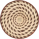 African Basket - Tonga - Zimbabwe Binga Basket - 25 Inches Across - #66915