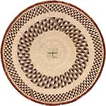 African Basket - Tonga - Zimbabwe Binga Basket - 24.5 Inches Across - #66917