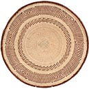 African Basket - Tonga - Zimbabwe Binga Basket - 20 Inches Across - #66921