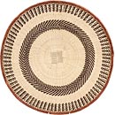 African Basket - Tonga - Zimbabwe Binga Basket - 20.5 Inches Across - #66922