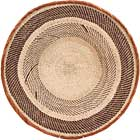 African Basket - Tonga - Zimbabwe Binga Basket - 22 Inches Across - #68416
