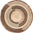 African Basket - Tonga - Zimbabwe Binga Basket - 21 Inches Across - #68418