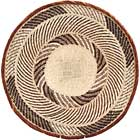 African Basket - Tonga - Zimbabwe Binga Basket - 21 Inches Across - #68419