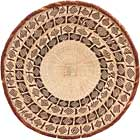 African Basket - Tonga - Zimbabwe Binga Basket - 21.5 Inches Across - #68420