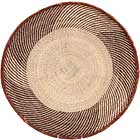 African Basket - Tonga - Zimbabwe Binga Basket - 21.5 Inches Across - #68421