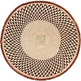 African Basket - Tonga - Zimbabwe Binga Basket - 24.5 Inches Across - #68422
