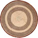 African Basket - Tonga - Zimbabwe Binga Basket - 24 Inches Across - #68423