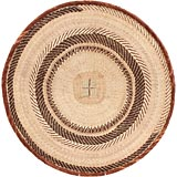 African Basket - Tonga - Zimbabwe Binga Basket - 25 Inches Across - #68424