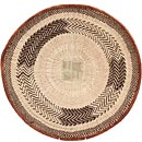 African Basket - Tonga - Zimbabwe Binga Basket - 19.5 Inches Across - #68426