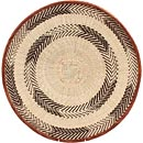 African Basket - Tonga - Zimbabwe Binga Basket - 20 Inches Across - #68428