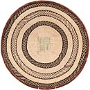 African Basket - Tonga - Zimbabwe Binga Basket - 19.5 Inches Across - #68429