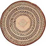 African Basket - Tonga - Zimbabwe Binga Basket - 24 Inches Across - #68943