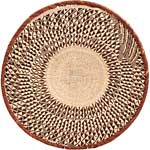 African Basket - Tonga - Zimbabwe Binga Basket - 24 Inches Across - #68944