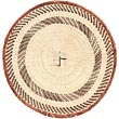 African Basket - Tonga - Zimbabwe Binga Basket - 15 Inches Across - #71264