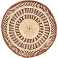 African Basket - Tonga - Zimbabwe Binga Basket - 16.5 Inches Across - #71265