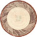 African Basket - Tonga - Zimbabwe Binga Basket - 17.5 Inches Across - #71278