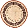 African Basket - Tonga - Zimbabwe Binga Basket - 12.25 Inches Across - #71308