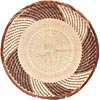 African Basket - Tonga - Zimbabwe Binga Basket - 12.75 Inches Across - #71362