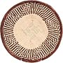 African Basket - Tonga - Zimbabwe Binga Basket - 11.75 Inches Across - #71376