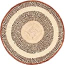 African Basket - Tonga - Zimbabwe Binga Basket - 19.5 Inches Across - #71389
