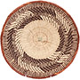 African Basket - Tonga - Zimbabwe Binga Basket - 11.75 Inches Across - #72295