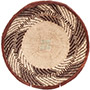 African Basket - Tonga - Zimbabwe Binga Basket - 11.25 Inches Across - #72296