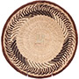 African Basket - Tonga - Zimbabwe Binga Basket - 11.75 Inches Across - #72297