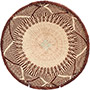 African Basket - Tonga - Zimbabwe Binga Basket - 10.75 Inches Across - #72299