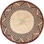 African Basket - Tonga - Zimbabwe Binga Basket - 11.5 Inches Across - #72300