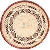 African Basket - Tonga - Zimbabwe Binga Basket - 13.5 Inches Across - #72374