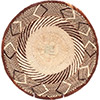 African Basket - Tonga - Zimbabwe Binga Basket - 12.25 Inches Across - #72377