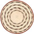 African Basket - Tonga - Zimbabwe Binga Basket - 18 Inches Across - #72390