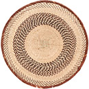 African Basket - Tonga - Zimbabwe Binga Basket - 20.5 Inches Across - #72395