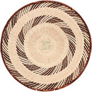 African Basket - Tonga - Zimbabwe Binga Basket - 18.75 Inches Across - #72397