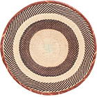 African Basket - Tonga - Zimbabwe Binga Basket - 21 Inches Across - #72401