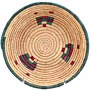 African Basket - Small Tuareg Tray - 8 Inches Across - #68266