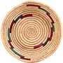African Basket - Small Tuareg Tray - 8 Inches Across - #68267