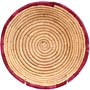African Basket - Small Tuareg Tray - 8 Inches Across - #68271