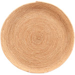 African Basket - All Natural Tuareg Winnowing Tray - 14 Inches Across - #72765