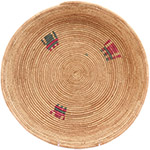 African Basket - Tuareg Winnowing Tray - 13.5 Inches Across - #72779