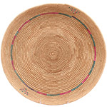 African Basket - Tuareg Winnowing Tray - 14.25 Inches Across - #72780