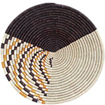 African Basket - Burundi Sisal Coil Weave Bowl - 14 Inches Across - #72178