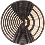 African Basket - Burundi Sisal Coil Weave Bowl - 14 Inches Across - #72568