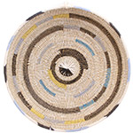 African Basket - Cameroon Coil Weave Bowl - 15 Inches Across - #72579