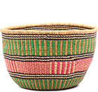 African Basket - Ghana Bolga - No Handle Market - 18.5 Inches Across - #75115