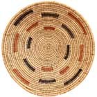 African Basket - Makenge Bush Root Bowl - 15.5 Inches Across - #66944