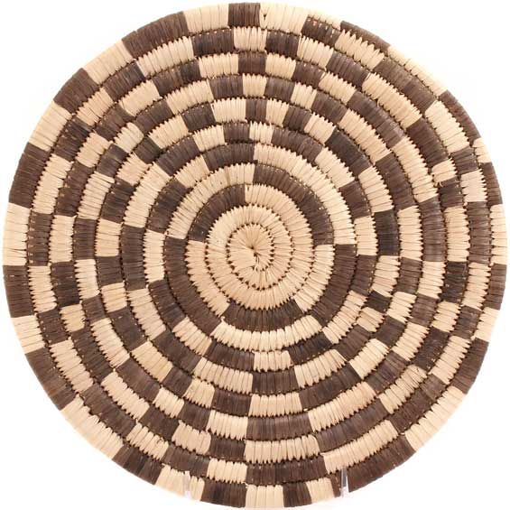 African Basket - Malawi Roundel - 12 Inches Across - #66828
