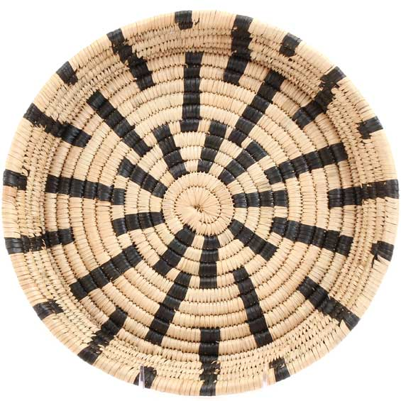 African Basket - Malawi Tray - 12 Inches Across - #68559